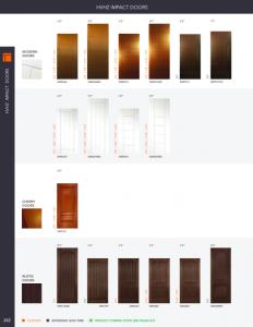 HVHZ impact doors catalog