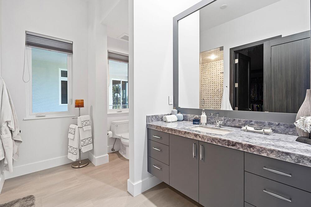 custom bathroom mirror in South Florida