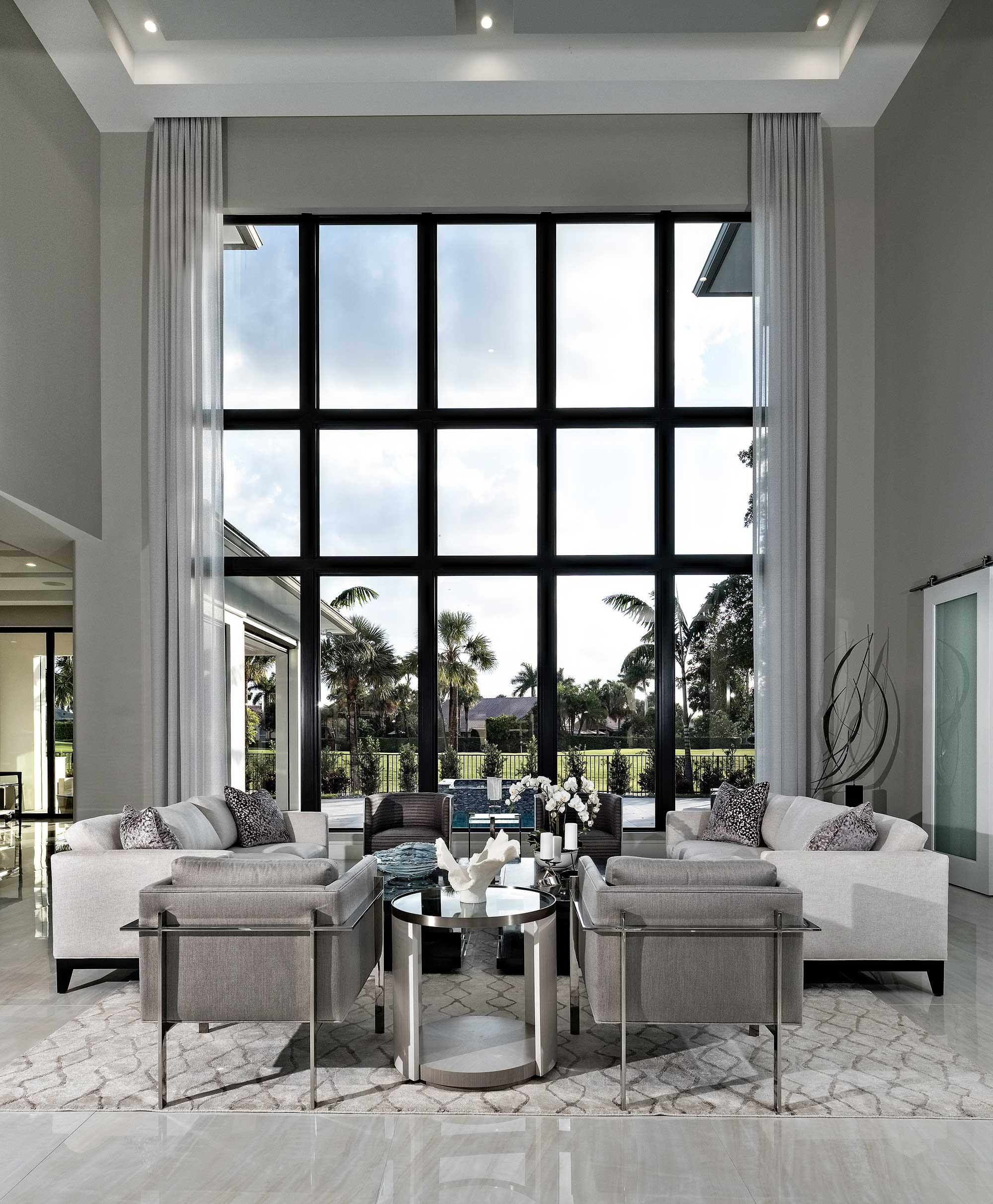 Fixed Windows custom glass in South Florida