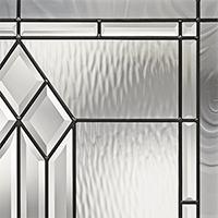 Decorative Doors custom glass in South Florida