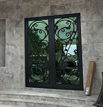 custom ornamental front door